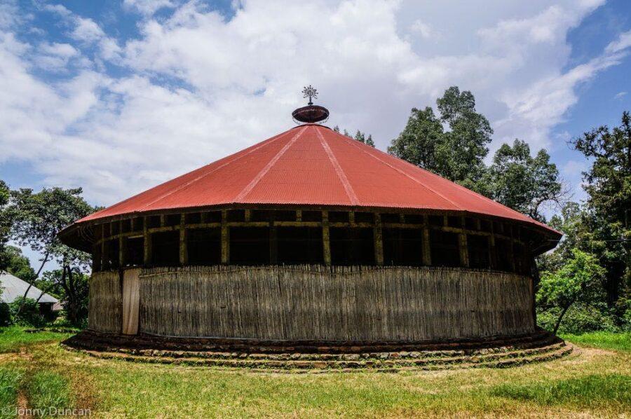 Lake Tana monastery.