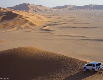 A Desert Adventure Into The Empty Quarter Of Oman