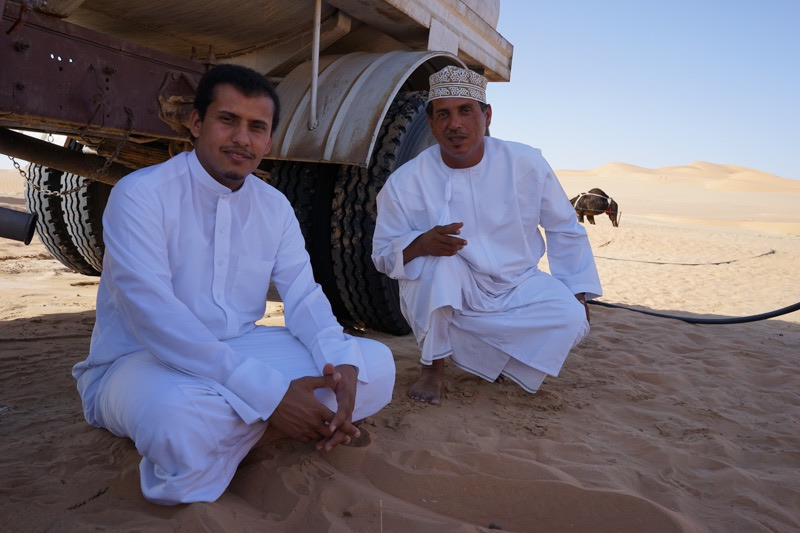 empty quarter desert tour Oman
