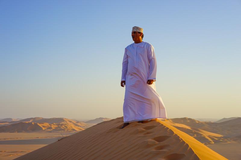 empty quarter desert Oman trip