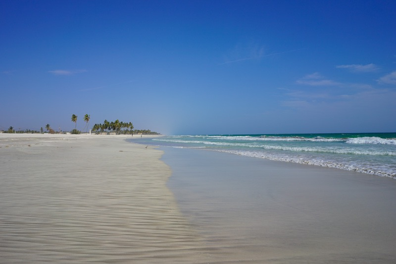 beach in Salalah oman