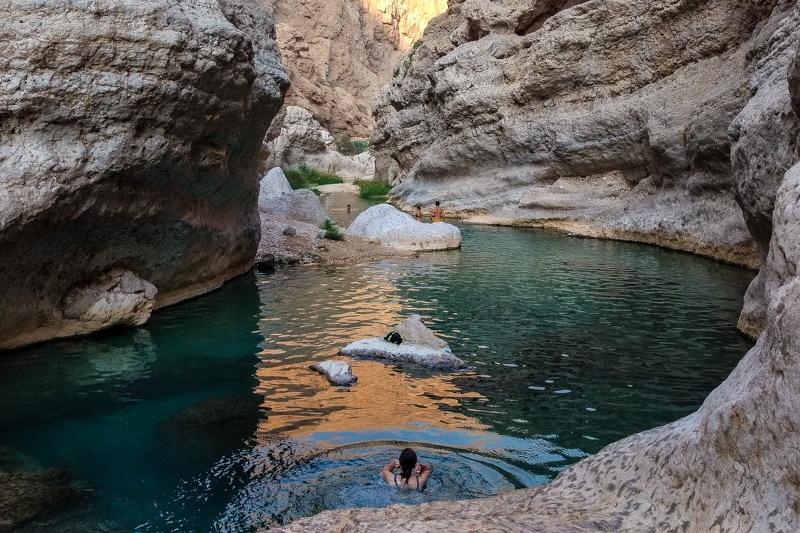 Wadi Shab oman trip