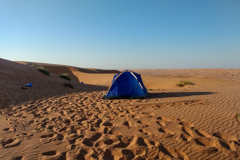 camping wahiba sands Oman trip