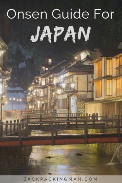 Japanese onsen travel