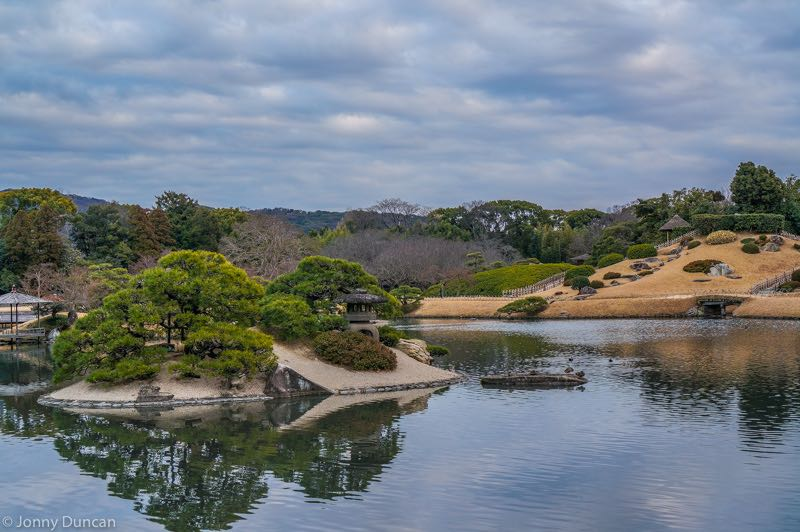 Okayama Japanese garden.