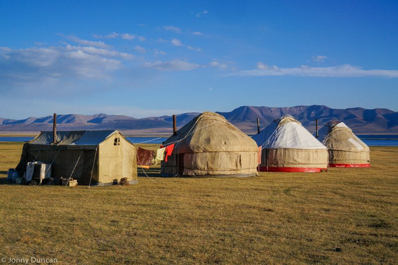 cheapest backpacking destinations asia kyrgyzstan