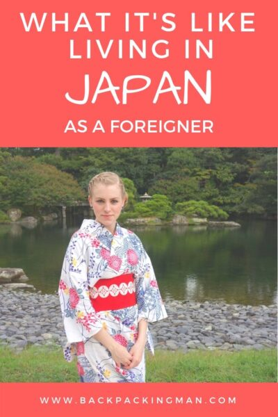 living in Japan as an American foreigner