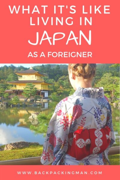 living in Japan as a foreigner