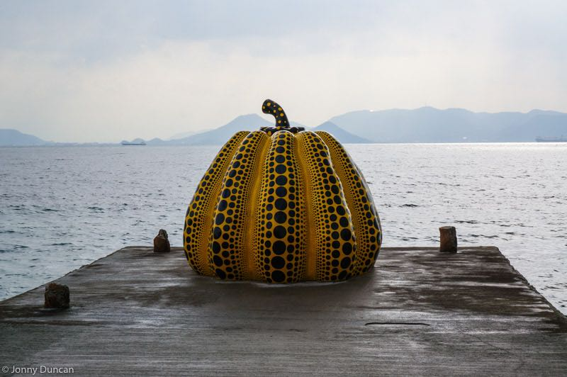 naoshima yellow apple