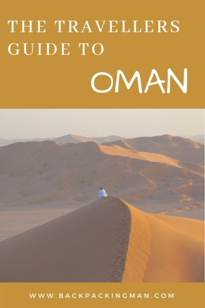 backpacking oman travel