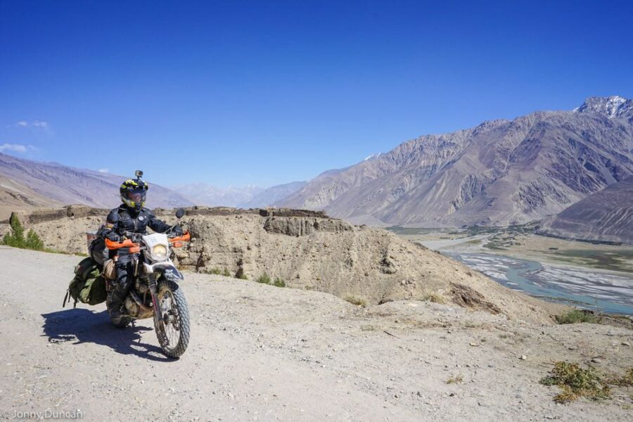 Pamir highway Wakhan valley