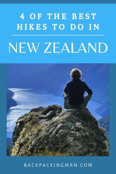 best hikes New Zealand
