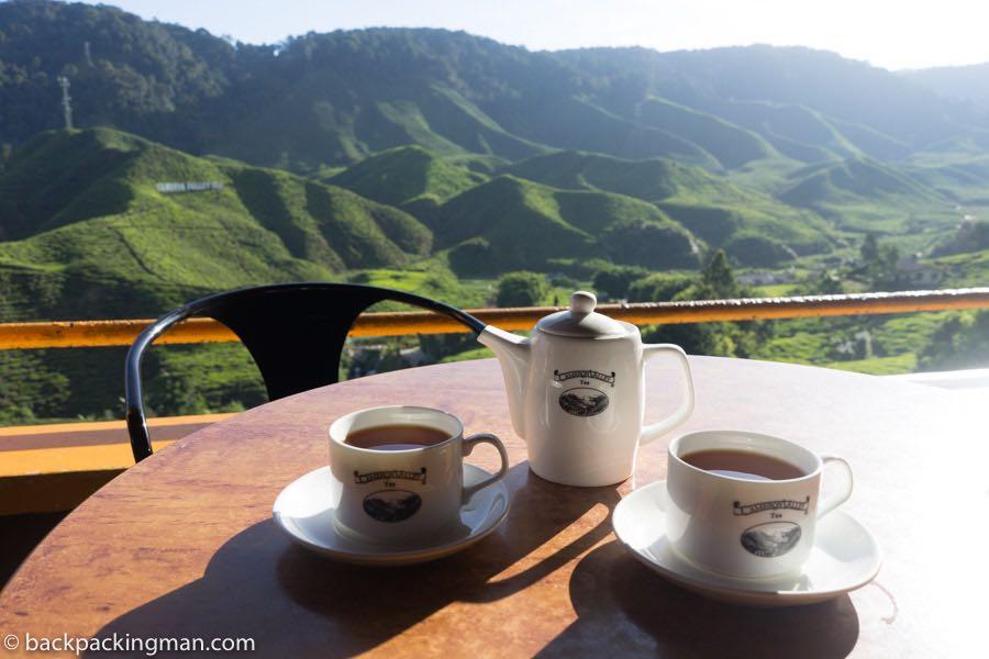 Cameron valley tea