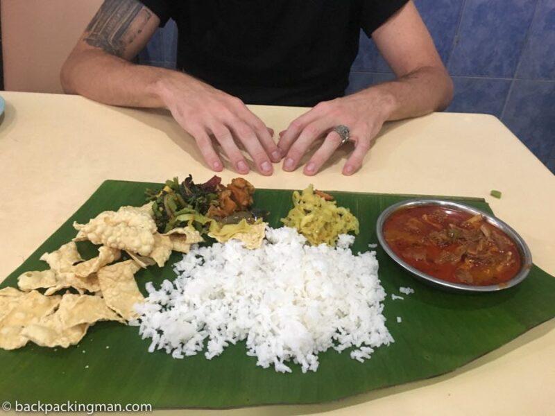 indian food Cameron Highlands