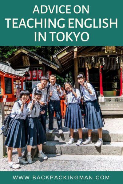 teaching English in Tokyo Japan