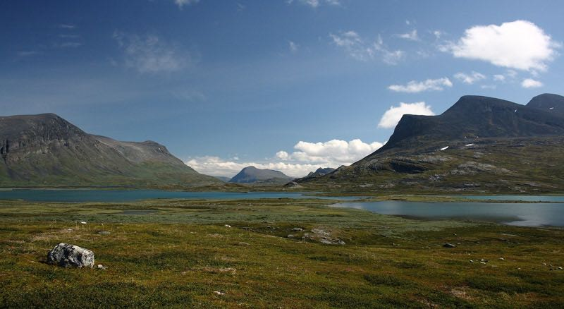 backpacking Scandinavia Kungsleden