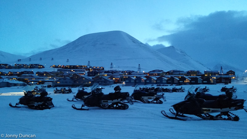 Svalbard northern lights