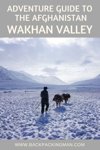 Afghanistan Wakhan Valley