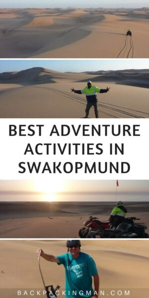 Swakopmund Namibia adventure activities