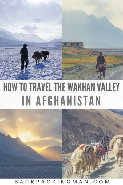 Wakhan valley Afghanistan