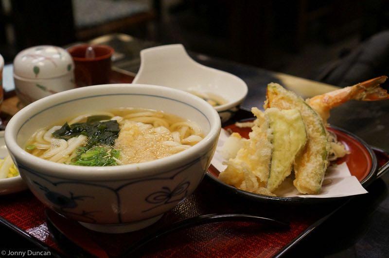 udon noodles backpacking Japan