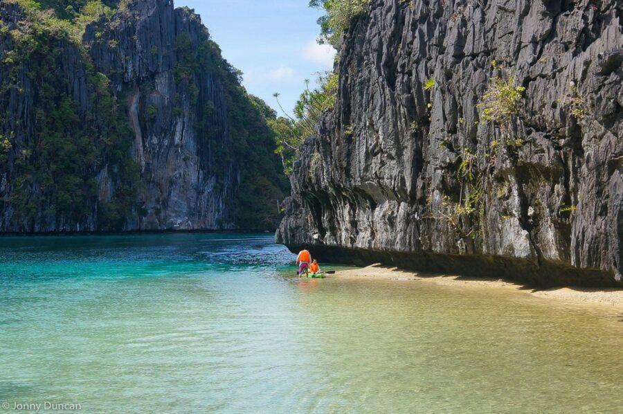 Palawan itinerary kayaking el nido