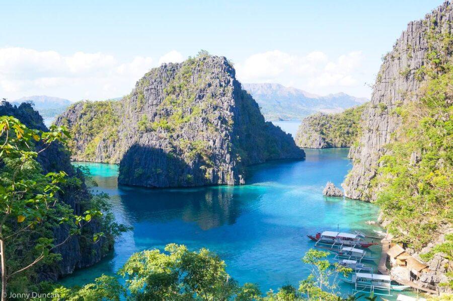 Palawan itinerary Coron Island