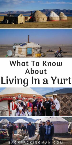 living in a yurt