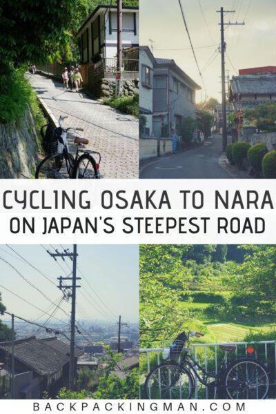 cycling Osaka Japan