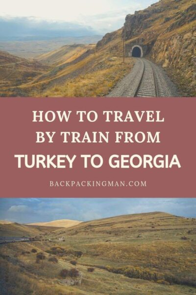train turkey to Georgia