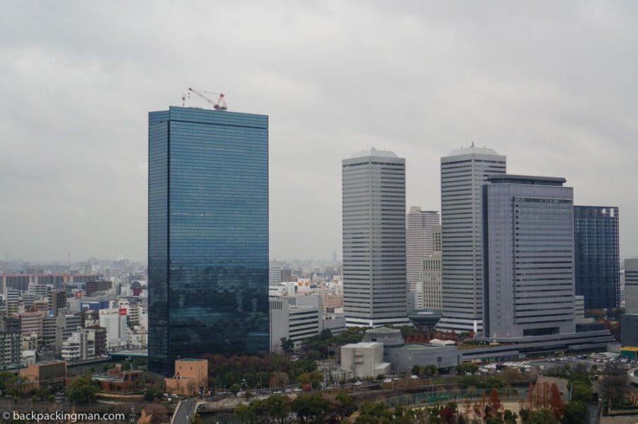 view from Abeno Harukas