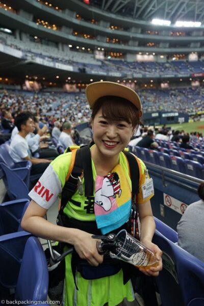 baseball Kyocera Dome Osaka Japan