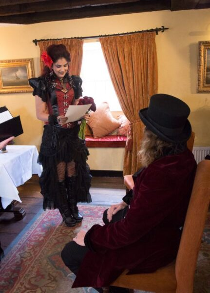 gothic victorian wedding