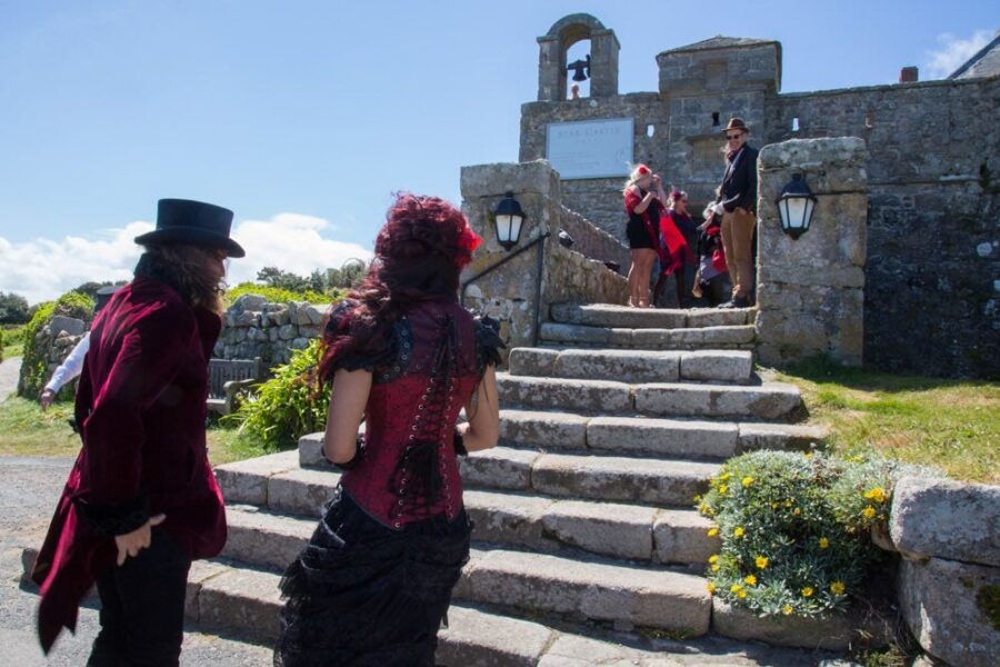 victorian wedding at castle
