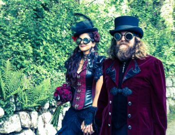 Our Victorian Steampunk Wedding (In a Castle!)