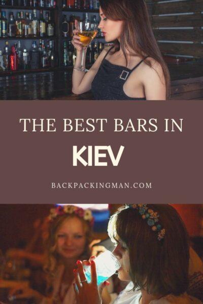 BEST BARS KIEV NIGHTLIFE