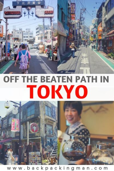 TOKYO OFF THE BEATEN PATH JAPAN