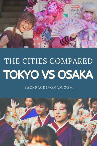 TOKYO VS OSAKA