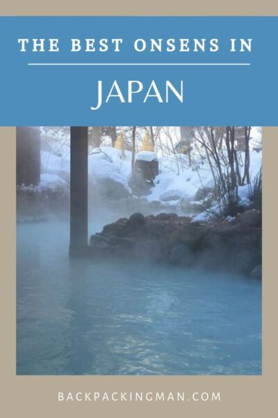 Japanese onsens japan