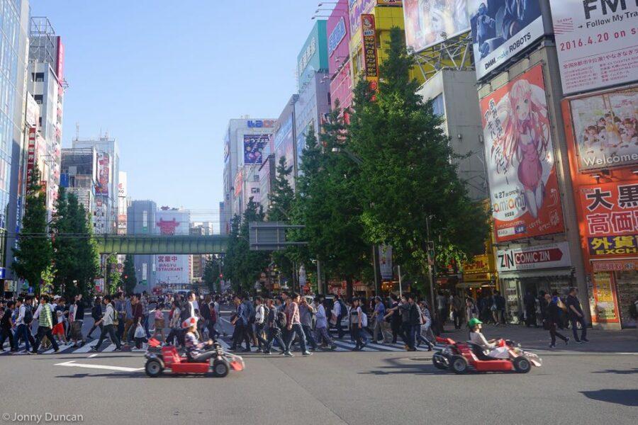go kart Akihabara
