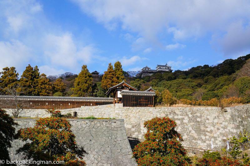 Matsuyama castle Japan