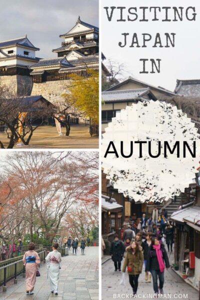 Japan autumn travel