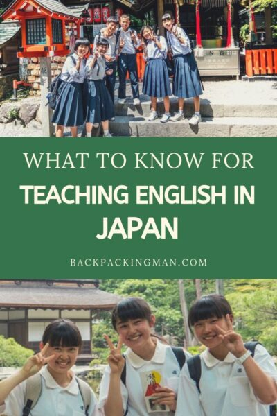 teaching English tokyo Japan