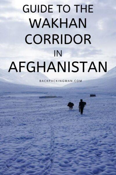 Afghanistan Wakhan Corridor