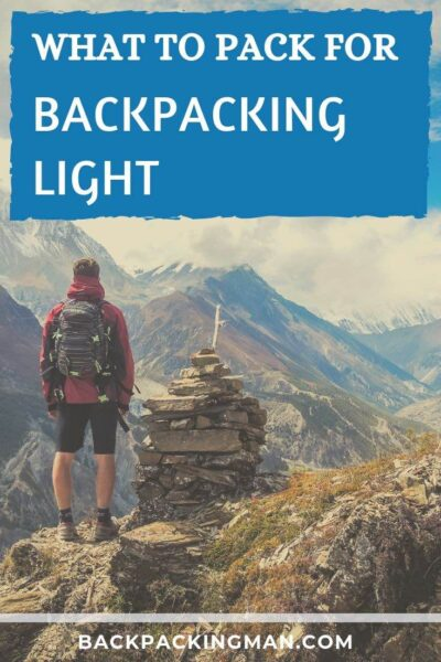 backpacking light travel