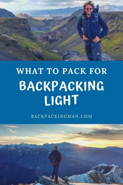 backpacking light
