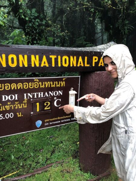Doi Inthanon weather