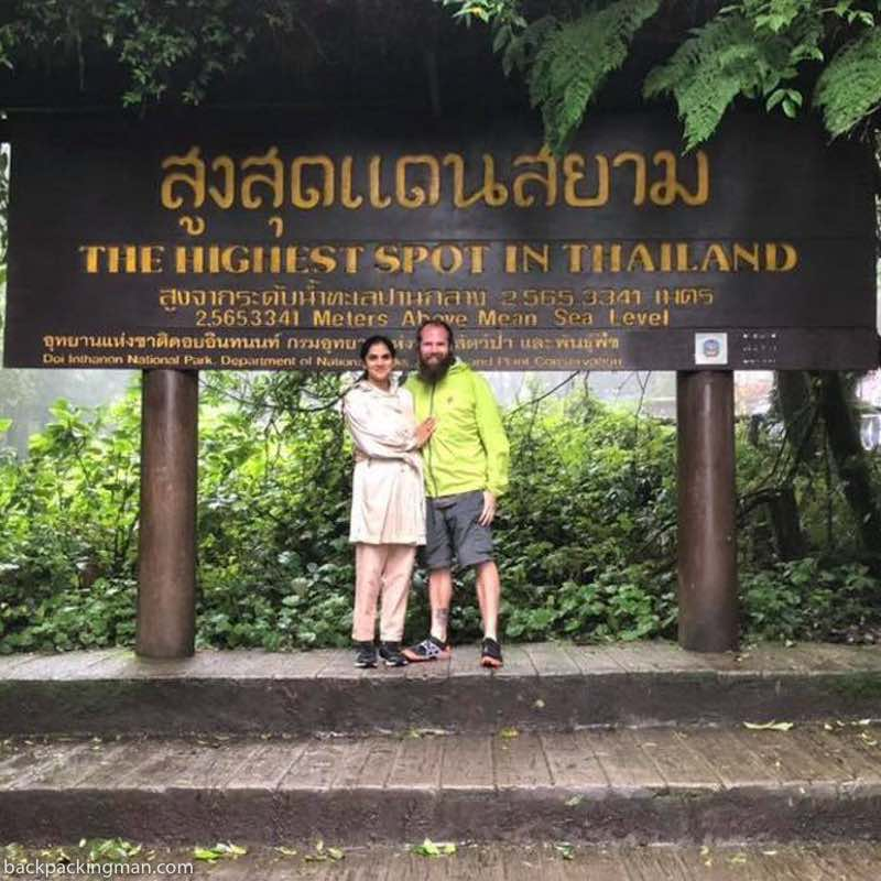 highest spot in thailand Doi Inthanon