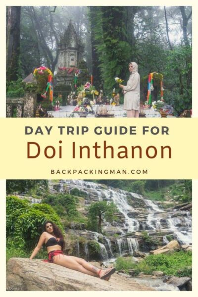 Doi Inthanon National Park Chiang Mai Day Trip Thailand