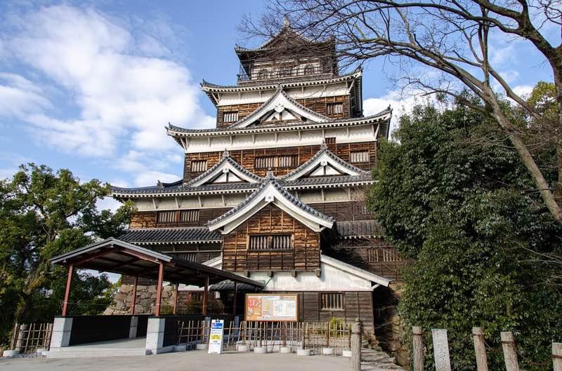 Hiroshima Castle osaka to Hiroshima day trip